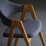 나무 골격 (C720-5-2)를 가진 의자를 식사하는 무방비 직물