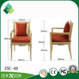 椅子の木製の肘掛け椅子を中国製食事する熱い販売(ZSC-40)