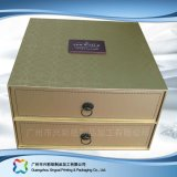 Rectángulo de empaquetado de la cartulina del cajón rígido del papel para el regalo/el cosmético (xc-hbd-001)