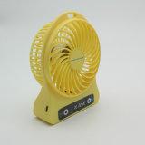 Mini ventilador recarregável portátil para o USB