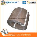 Guarnición de freno de la resina en rodillo