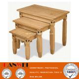 자연적인 색깔 오크 차 커피 나무로 되는 목제 정연한 작은 작은 테이블