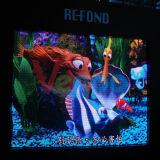 Vollkommener Anblick-Effekt farbenreicher LED-Innenbildschirm P7.62