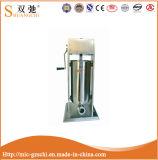 Llenador manual del acero inoxidable del llenador de la salchicha del equipo del restaurante de la alta calidad