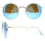 Os óculos de sol redondos da forma polarizaram vidros de Sun para mulheres