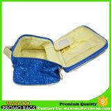 Sac cosmétique en nylon de Bling Bling de tendance de mode et sac portatif de mémoire