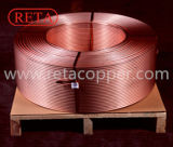 Waagerecht ausgerichtetes Wundspulen-(normales) nahtloses Gefäß