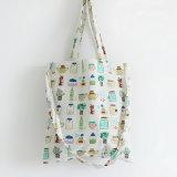 布袋の女性の夏のキャンバス袋のショルダー・バッグのハンドバッグの小さく新しい漫画の印刷のびん