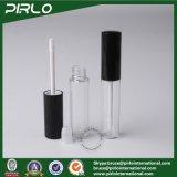 8g 8ml rimuovono il tubo di plastica di lucentezza dell'orlo con la bottiglia cosmetica di lucentezza dell'orlo di trucco della spazzola della protezione dell'animale domestico del rossetto del tubo liquido nero opaco dell'imballaggio
