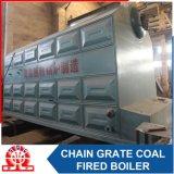 Caldaia a vapore Chain orizzontale della griglia del Doppio-Timpano industriale dello SZL 35-1.25MPa