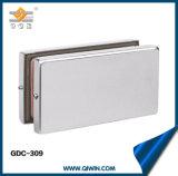 Raccord de fixation de porte en verre en acier inoxydable de haute qualité