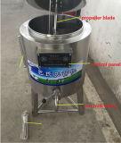 Macchina sanitaria del pastorizzatore del SUS 304/316L dell'acciaio inossidabile per latte con il metodo di raffreddamento differente