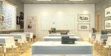 Messaggio di vetro magnetico Whiteboard di scrittura dell'ufficio con il certificato di Ce/En71/SGS