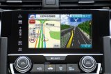 2016 androide HD GPS Navigations-Schnittstelle Honda- Civic, Aktualisierungsvorgang WiFi, Bluetooth, Mirrorlink, video panoramische Ansicht, Sprachsteuerung, androide APP erhältlich