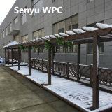 Pergola extérieur matériel vert de WPC