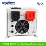 fora de C.C. 12/24V da grade 1000W ao inversor puro da onda de seno da C.A. 110/220V