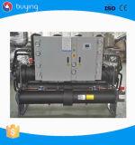 Refrigerador refrigerado por agua del tornillo para la depuradora con el mejor precio
