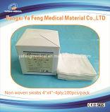 """Tamponi non tessuti non sterili medici 4 """" X4 """" - 4ply"""