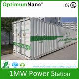 1mwh renovável 1000kwh na grade fora do UPS do gabinete de armazenamento da energia