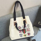 Designer Badge Patches Handbag Famosa Marca Shoulder Tote Bag Sy7960