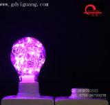 Ampoule bleue de Dimmable RVB DEL de lumière de câblage cuivre de décoration d'usager
