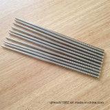 Палочка нержавеющей стали металла 304 Resuable горячего надувательства корейские с резъбой