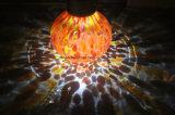 زاويّة شمسيّة زجاجيّة مرطبان فانوس مع [سلر بنل]