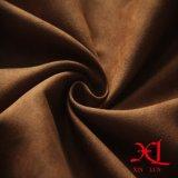 Бронзировано одной бортовой ткани замши полиэфира для мешка/платья/ткани/ботинок