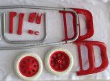 Accessoires de poignée en plastique adapté au panier et au sac à carreaux