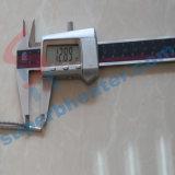 Alta densidad del diámetro 3m m que encurva en el tipo elemento de calefacción del calentador del cartucho