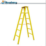 中国のメーカー価格の電気絶縁体の安全ガラス繊維のステップ梯子