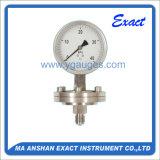 Calibrador Calibrar-Inferior de la medida de la presión de la presión Calibrar-Especial de la presión del diafragma