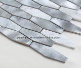 De Tegels Aashrb2203 van de Muur van de Badkamers van Backsplash van de Keuken van de Decoratie van de Tegels van Matel van de Steen van de Tegels van het Mozaïek van het aluminium
