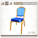 Metallstapelndes Hotel-Gaststätte-Stahlbankett, das Stühle (JY-T01, speist)