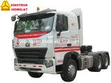 Sinotruk HOWO-A7 371HP 6X4の10車輪のトラクターのトラック