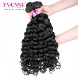 Cabelo humano peruano do cabelo 100% do Virgin não processado do preço de grosso