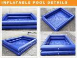 Câmara de ar inflável dobro quadrada da natação