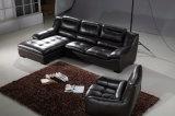 Sofá seccional del nuevo de Deisgn de los muebles del sofá cuero de la sala de estar (UL-NSC016)