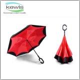 Windproof зонтик g двойника перевернутый ручкой