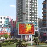 풀 컬러 옥외 광고 P6 발광 다이오드 표시 스크린 내각