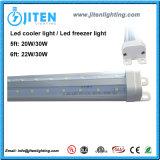 22W indicatore luminoso del tubo del dispositivo di raffreddamento di forma di v 6FT T8 LED, indicatore luminoso del congelatore di ETL LED per il frigorifero Walk-in