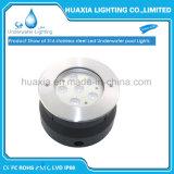 스테인리스 IP68는 온난한 백색 18W LED에 의하여 중단된 빛을 방수 처리한다