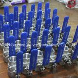 шариковые клапаны нержавеющей стали резьбы 2PC с типом Ce тяжелым