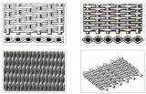 304 316 acoplamiento de alambre de la armadura del acero inoxidable 24*110 Ducth