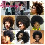 Оптовые людские волосы Peruvian Remy курчавых волос Afro Unprocessed