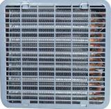 120kg tipo grande fabricante de hielo de escritorio (IM-120) de la dimensión de una variable del punto negro del almacenaje