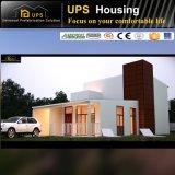Prueba prefabricada moderna de lujo modular verde del desastre de la casa y del chalet