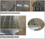 6X10FT Kanada, das einfach ist, installieren erhältlichen Puder-Beschichtung-Aufbau-die temporären Zaun-Panels jede mögliche Farbe