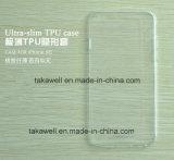 Caja transparente suave de encargo al por mayor del teléfono celular del claro TPU para la cubierta móvil 6s del iPhone 6