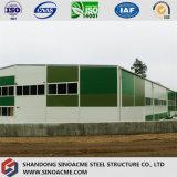 Мастерская стальной структуры высокого качества с Two-Floor